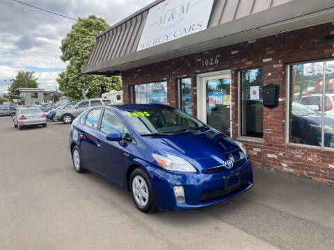 2010 Toyota Prius for sale at M&M Auto Sales in Portland OR