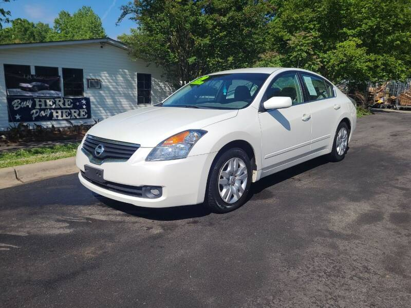 2009 Nissan Altima for sale at TR MOTORS in Gastonia NC