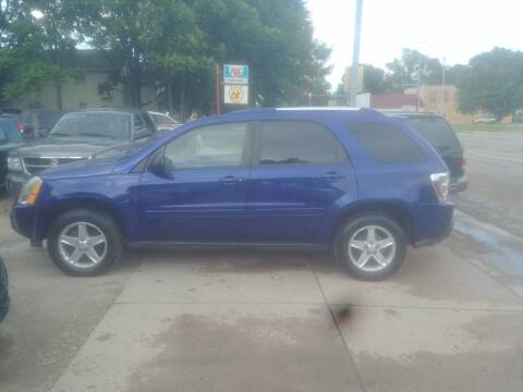 2005 Chevrolet Equinox for sale at D & D Auto Sales in Topeka KS