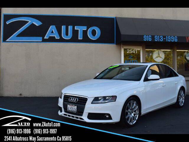 2011 Audi A4 for sale at Z Auto in Sacramento CA