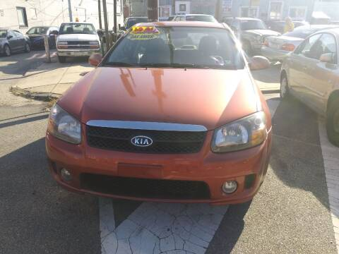 2009 Kia Spectra for sale at K J AUTO SALES in Philadelphia PA