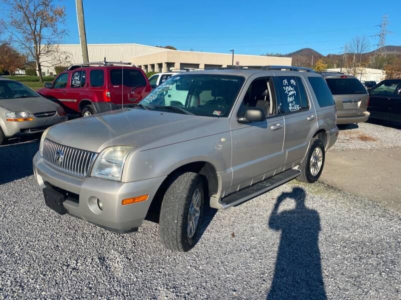 2004 Mercury Mountaineer AWD Luxury 4dr SUV w/Security Group - Cloverdale VA