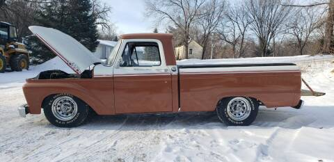 1963 Ford F-100 for sale at Midwest Classic Car in Belle Plaine MN
