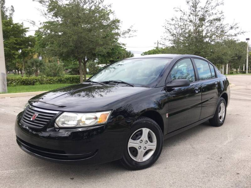 2005 Saturn Ion for sale at FIRST FLORIDA MOTOR SPORTS in Pompano Beach FL