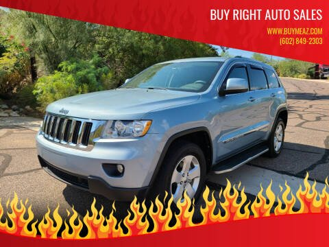 2012 Jeep Grand Cherokee for sale at BUY RIGHT AUTO SALES 2 in Phoenix AZ