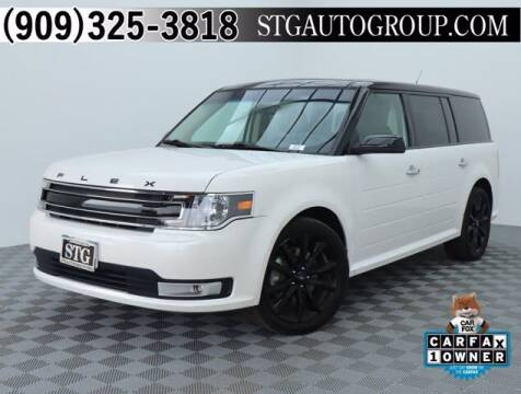 2017 Ford Flex for sale at STG Auto Group in Montclair CA