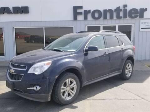 2015 Chevrolet Equinox for sale at Frontier Motors Automotive, Inc. in Winner SD