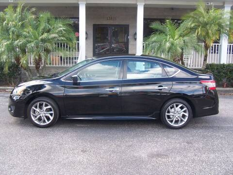 2013 Nissan Sentra for sale at Thomas Auto Mart Inc in Dade City FL