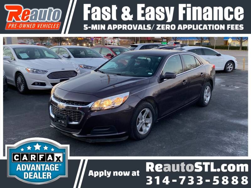 2015 Chevrolet Malibu for sale at Reauto in Saint Louis MO