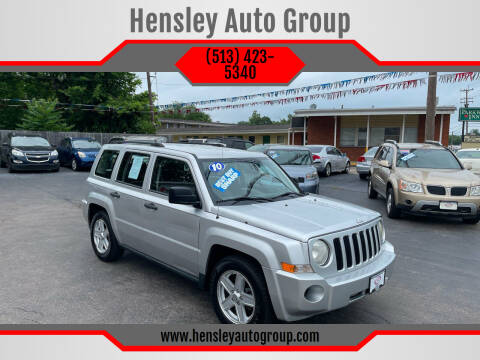 2010 Jeep Patriot for sale at Hensley Auto Group in Middletown OH