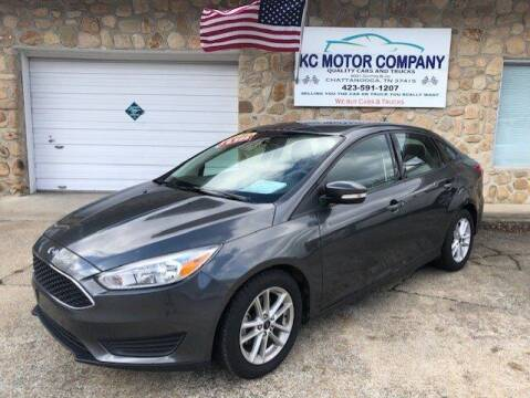 2017 Ford Focus for sale at KC Motor Company in Chattanooga TN