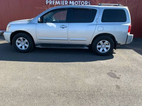 2004 Nissan Armada for sale at PREMIERMOTORS  INC. in Milton Freewater OR