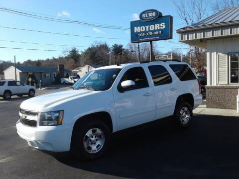 2011 Chevrolet Tahoe for sale at Route 106 Motors in East Bridgewater MA