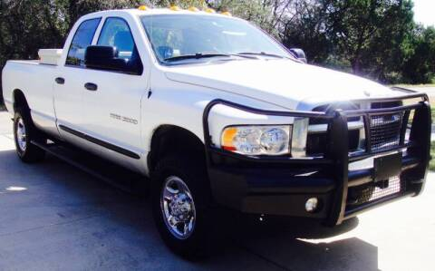 2004 Dodge Ram Pickup 3500 for sale at Coleman Auto Group in Austin TX