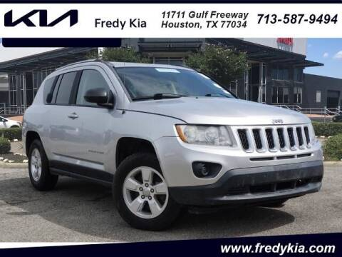 2013 Jeep Compass for sale at FREDY KIA USED CARS in Houston TX