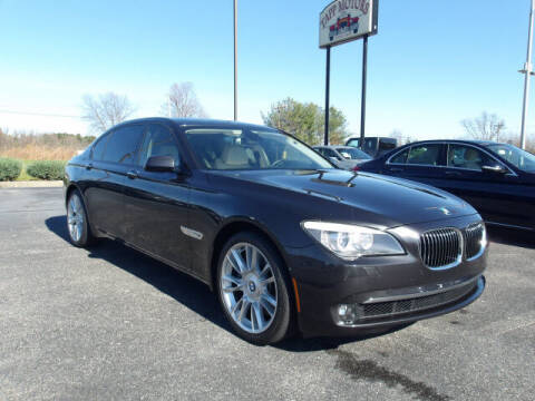 2012 BMW 7 Series for sale at TAPP MOTORS INC in Owensboro KY