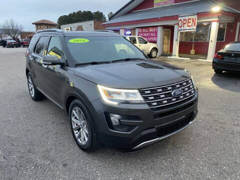 2016 Ford Explorer for sale at Sell Your Car Today in Fayetteville NC