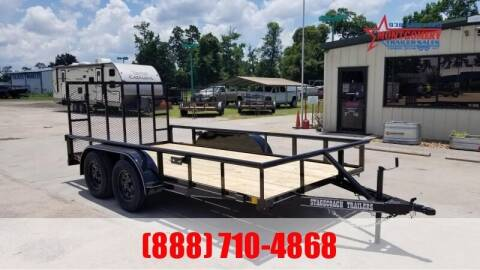 "2021 STAGECOACH 77"" X 14' Tandem Axle  for sale at Park and Sell - Trailers in Conroe TX"