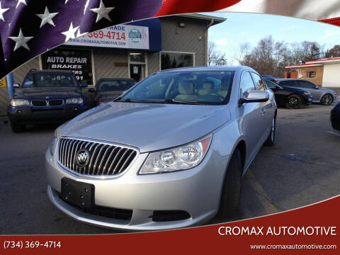 2013 Buick LaCrosse for sale at Cromax Automotive in Ann Arbor MI