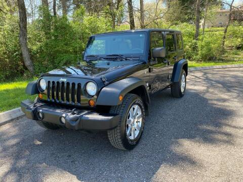 2008 Jeep Wrangler Unlimited for sale at Unique Auto Sales in Knoxville TN