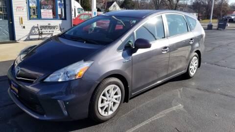 2012 Toyota Prius v for sale at Advantage Auto Sales & Imports Inc in Loves Park IL