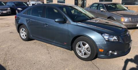 2012 Chevrolet Cruze for sale at Gilly's Auto Sales in Rochester MN