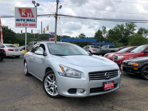 2011 Nissan Maxima for sale at KB Auto Mall LLC in Akron OH
