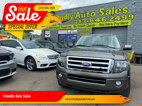 2012 Ford Expedition EL for sale at Friendly Auto Sales in Detroit MI