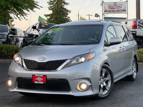2013 Toyota Sienna for sale at Real Deal Cars in Everett WA