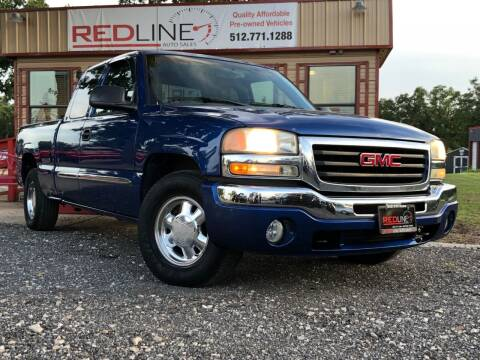 2003 GMC Sierra 1500 for sale at REDLINE AUTO SALES LLC in Cedar Creek TX