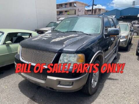2003 Ford Expedition for sale at Bayview Auto Sales in Waipahu HI