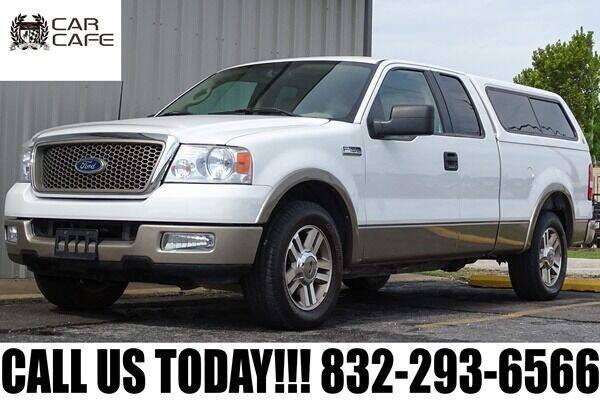 2005 Ford F-150 for sale at CAR CAFE LLC in Houston TX