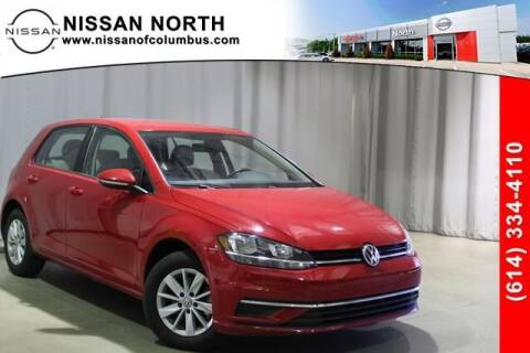 2019 Volkswagen Golf for sale at Auto Center of Columbus in Columbus OH