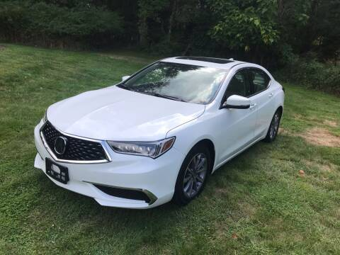 2018 Acura TLX for sale at Autos By Joseph Inc in Highland NY