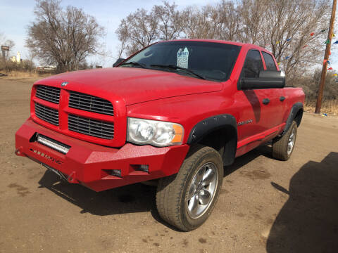 2005 Dodge Ram Pickup 1500 for sale at BARNES AUTO SALES in Mandan ND