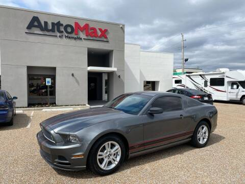 2013 Ford Mustang for sale at AutoMax of Memphis - V Brothers in Memphis TN