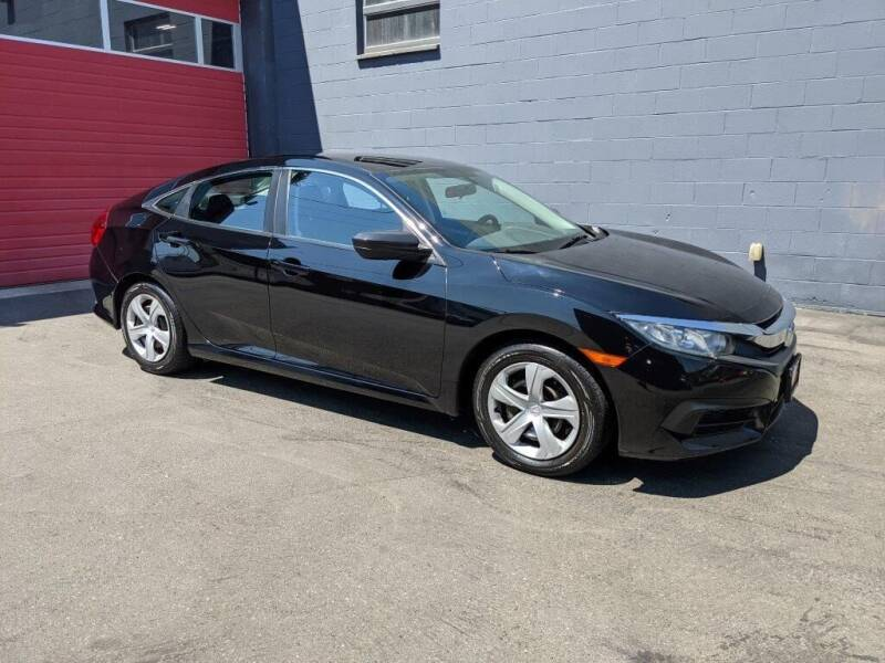2016 Honda Civic for sale at Paramount Motors NW in Seattle WA
