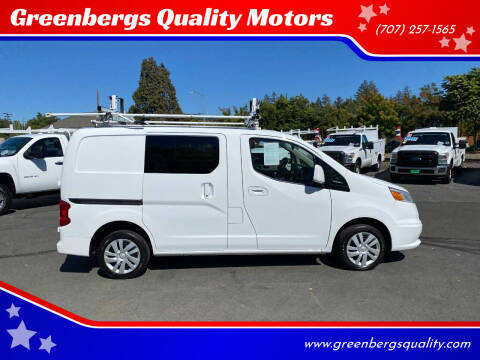 2015 Chevrolet City Express Cargo for sale at Greenbergs Quality Motors in Napa CA