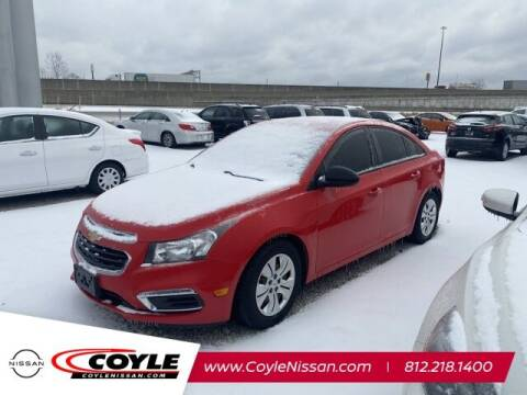 2015 Chevrolet Cruze for sale at COYLE GM - COYLE NISSAN - Coyle Nissan in Clarksville IN