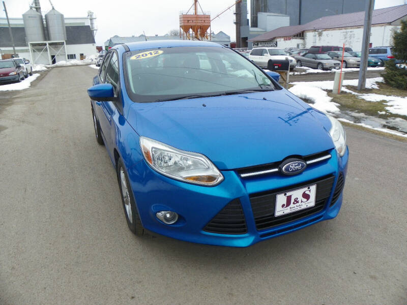 2012 Ford Focus for sale at J & S Auto Sales in Thompson ND