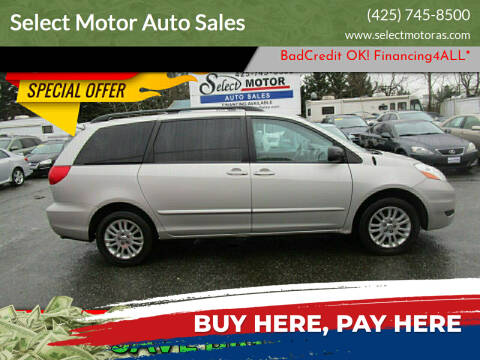 2009 Toyota Sienna for sale at Select Motor Auto Sales in Lynnwood WA