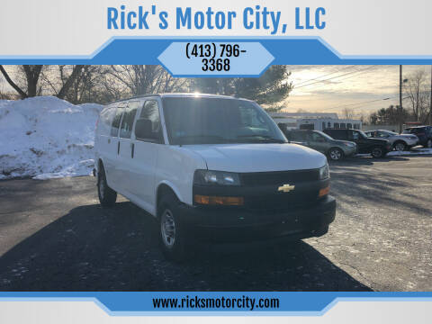 2019 Chevrolet Express Cargo for sale at Rick's Motor City, LLC in Springfield MA
