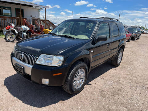 2006 Mercury Mariner for sale at PYRAMID MOTORS - Fountain Lot in Fountain CO