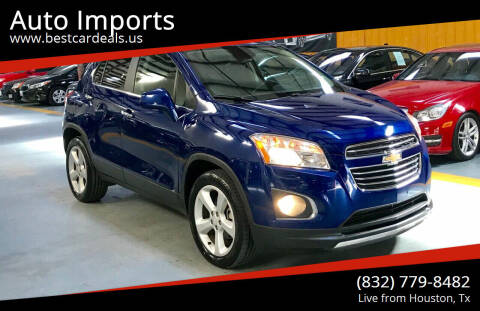 2015 Chevrolet Trax for sale at Auto Imports in Houston TX