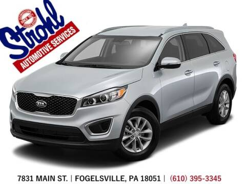 2016 Kia Sorento for sale at Strohl Automotive Services in Fogelsville PA
