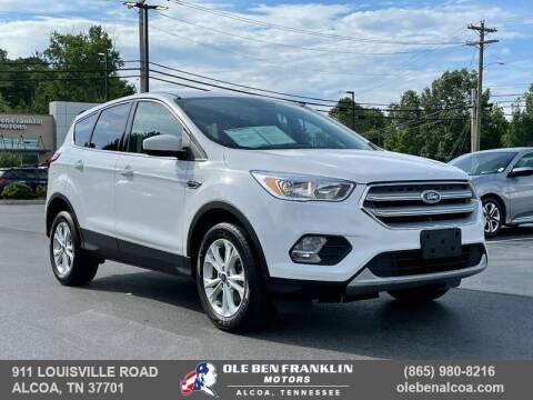 2019 Ford Escape for sale at Ole Ben Franklin Motors-Mitsubishi of Alcoa in Alcoa TN