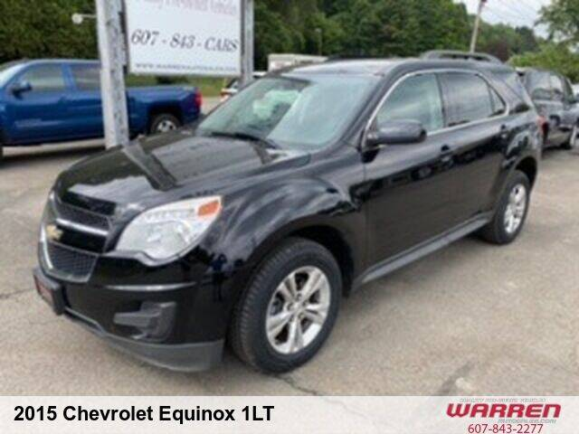 2015 Chevrolet Equinox for sale at Warren Auto Sales in Oxford NY