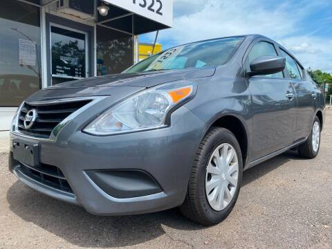 2018 Nissan Versa for sale at Mainstreet Motor Company in Hopkins MN