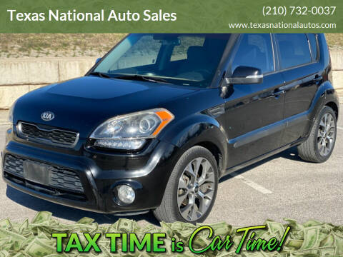 2013 Kia Soul for sale at Texas National Auto Sales in San Antonio TX