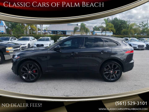 2018 Jaguar F-PACE for sale at Classic Cars of Palm Beach in Jupiter FL
